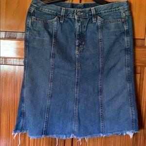 Gap Women's Jean Skirt Size 8 EUC